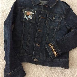 NWOT Juicy Couture Denim Jacket